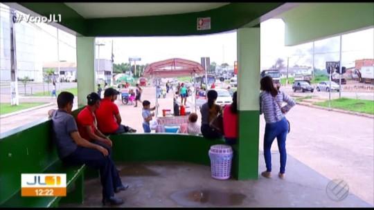 Rodoviários entram em greve em Marabá, no sudeste do Pará