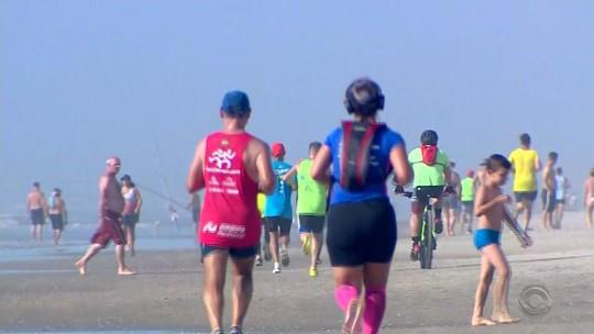 Travessia Torres-Tramandaí reuniu 3,5 mil corredores neste sábado
