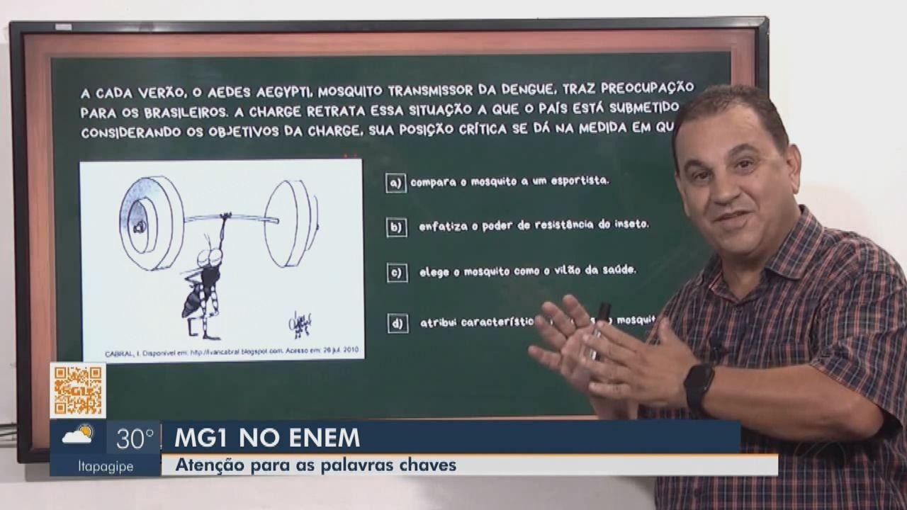 Professor recomenda atenção às palavras chaves na redação do Enem