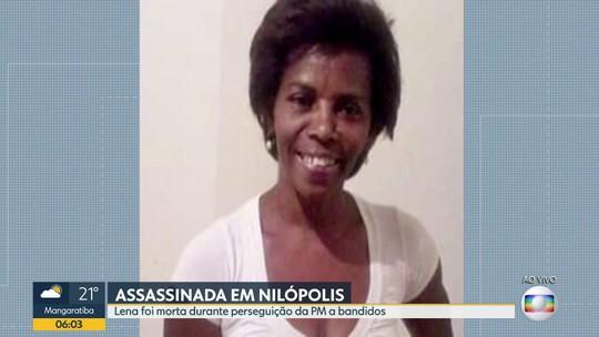 Moradora de Nilópolis é morta durante perseguição policial
