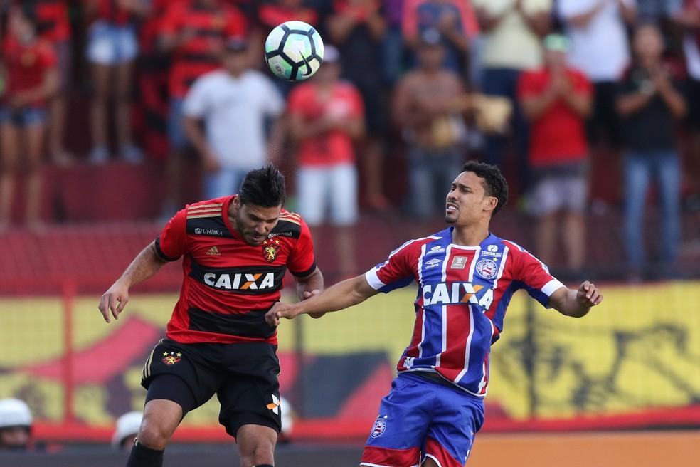 Sport x Bahia (Foto: Aldo Carneiro / Pernambuco Press)