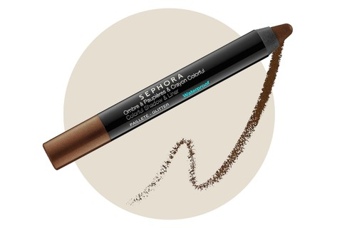 Delineador e Sombra Colorful Shadow and Liner na cor Brown, Sephora Collection (R$ 64)