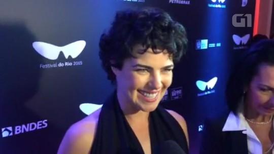 Ana Paula Arósio comenta volta às telas e novo filme que está no Festival do Rio