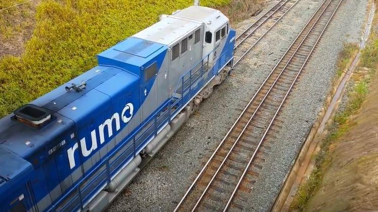 Ferrovia Rumo logística (Foto: Rumo/Divulgação)