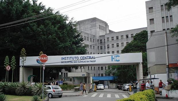 Hospital das Clínicas, em São Paulo (Foto: Reprodução/Wikimedia Commons)
