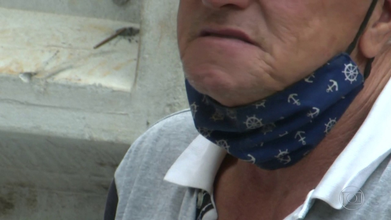 Onda de calor faz o brasileiro relaxar no uso da máscara