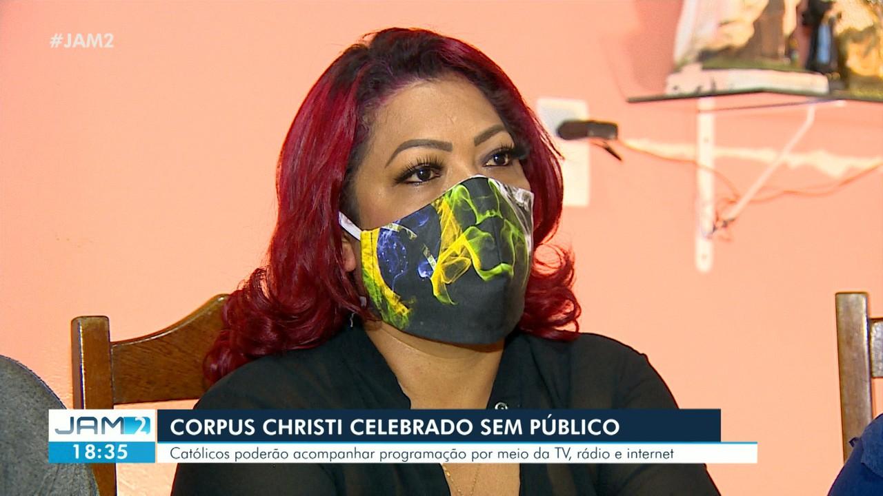 Corpus Christi é celebrado sem público por conta da pandemia