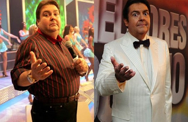 Faustão operou o estômago em 2009 e emagreceu mais de 30kg (Foto: TV Globo)