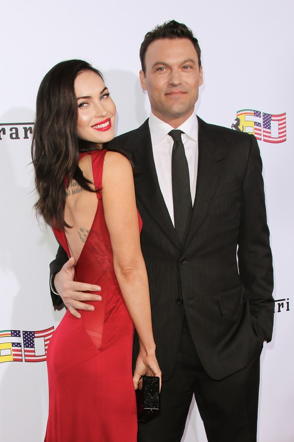 Megan Fox e Brian Austin Green em 2014 (Foto: Getty Images)