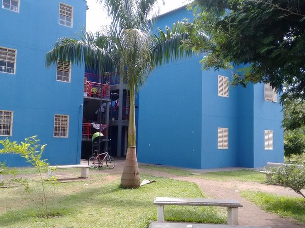 Alojamento da UFSCar em São Carlos (SP) — Foto: Carol Malandrino/G1