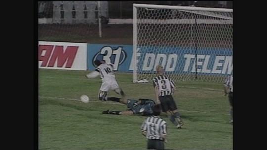 Você se lembra? Galo goleia Botafogo em 1999 com gols de Belletti, Marques, Curê...