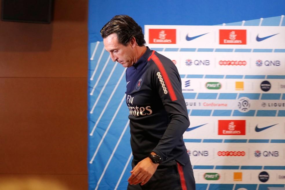Neymar x Cavani é dor de cabeça para Unai Emery no PSG (Foto: Reuters)