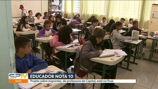 Projetos de duas professoras da Grande São Paulo são finalistas do prêmio Educador Nota 10