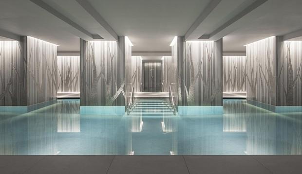 Spa Pool – Four Seasons Hotel London at Ten Trinity Square – Architect Joseph Caspari with Mio Shibuya (Foto: © Photo Richard Waite _ © Arch)