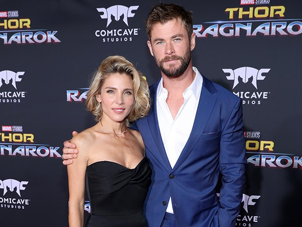 Elsa Pataky e Chris Hemsworth (Foto: Getty Images)