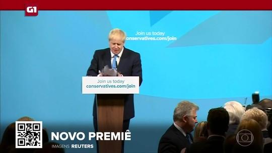 G1 em 1 Minuto: Boris Johnson é escolhido para ser o primeiro-ministro do Reino Unido