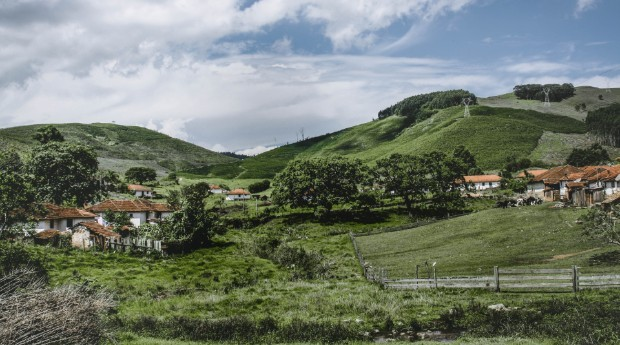 Fazenda da família de Carneiro no sul de Minas Gerais (Foto: Divulgação)