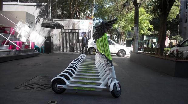 Patinetes da Scoo já estão disponíveis para uso na cidade de São Paulo (Foto: Divulgação)