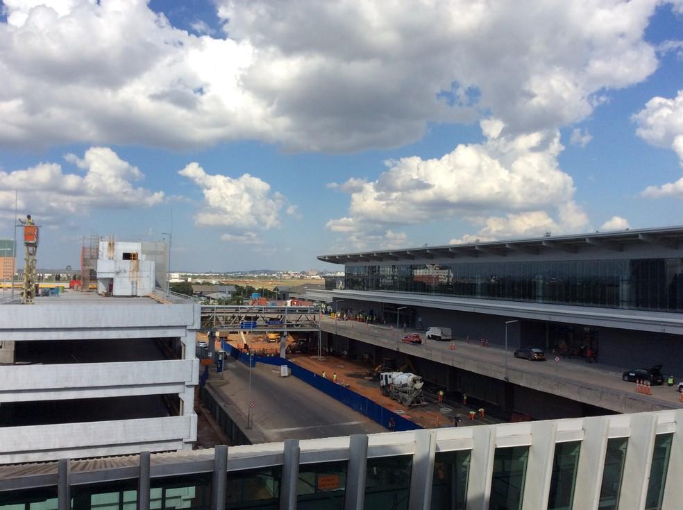Fraport é a administradora do Aeroporto Salgado Filho — Foto: Guacira Merlin/RBS TV