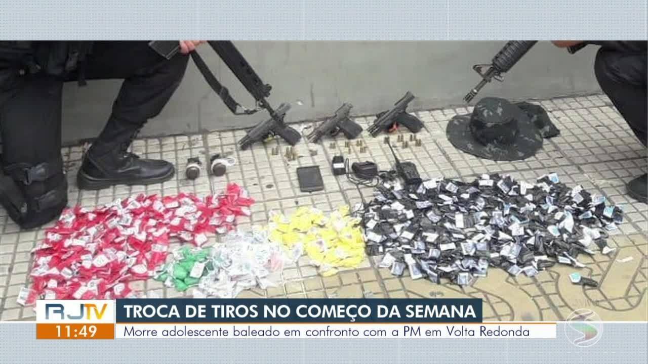 Morre adolescente baleado em confronto com a PM em Volta Redonda