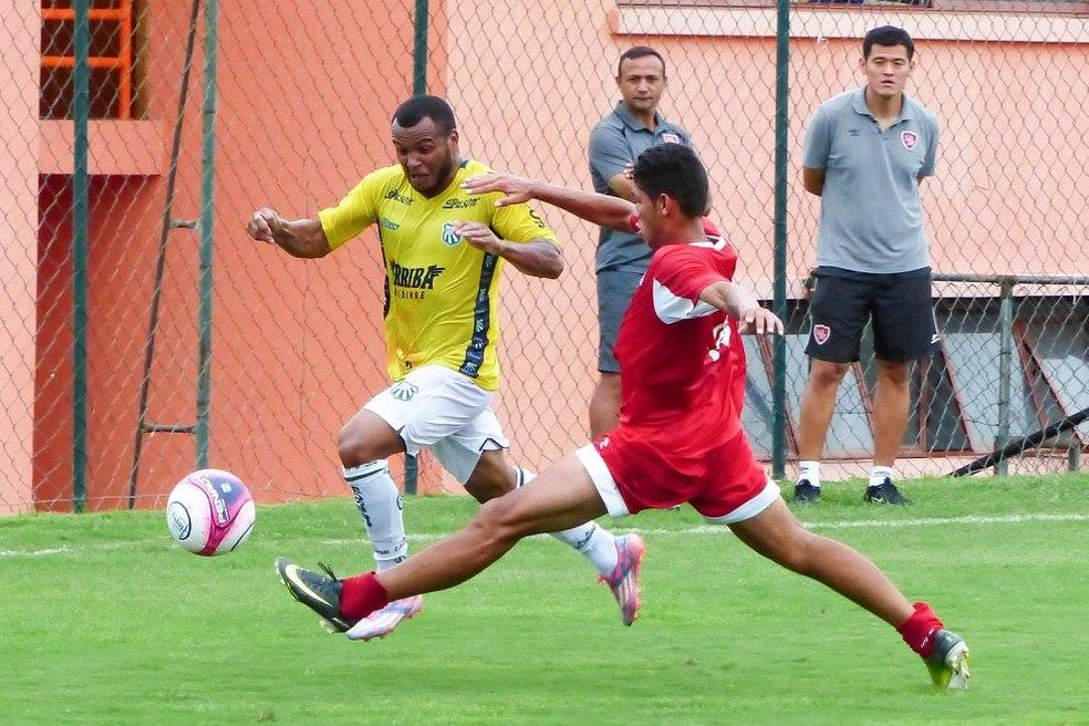 Caldense venceu dois jogos-treino e empatou outros dois até aqui na pré-temporada (Foto: Renan Muniz / Caldense)