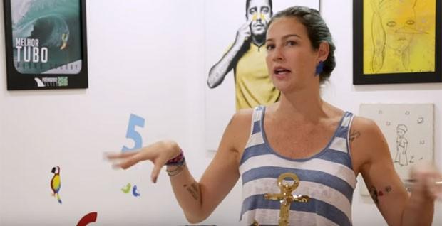 Luana Piovani explica decoração do quarto de Bem (Foto: Reprodução)