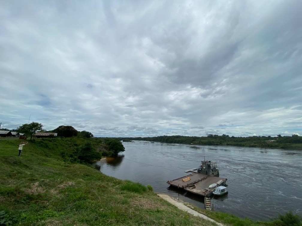 CALHA NORTE - Terra indígena Iauaretê faz divisa com a Colômbia.  — Foto: Mayara Subtil/Rede Amazônica