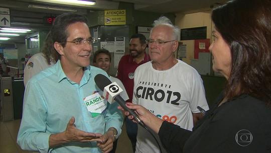Maurício Rands promete recuperar estações de metrô no Recife e na Região Metropolitana