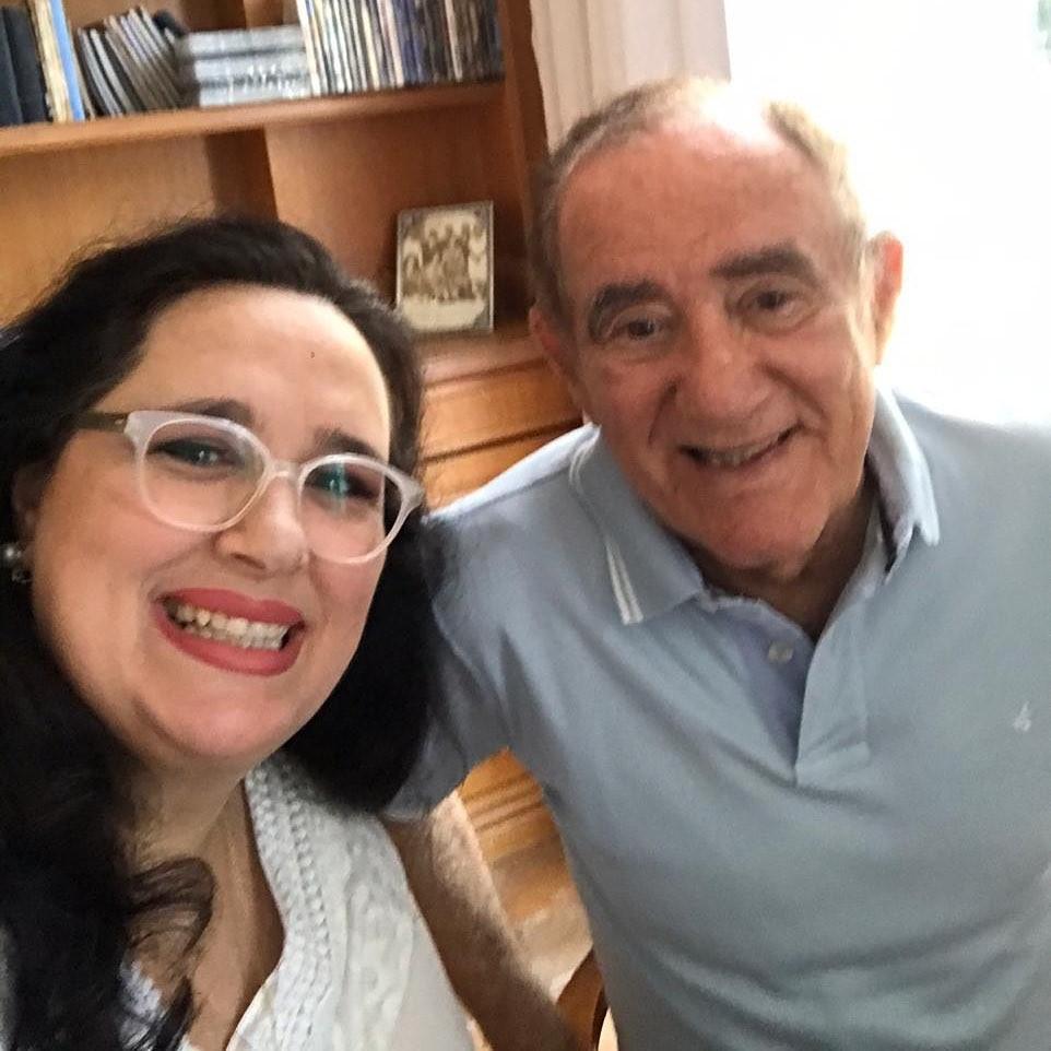 Renato Aragão se declara para a mulher em quarentena: