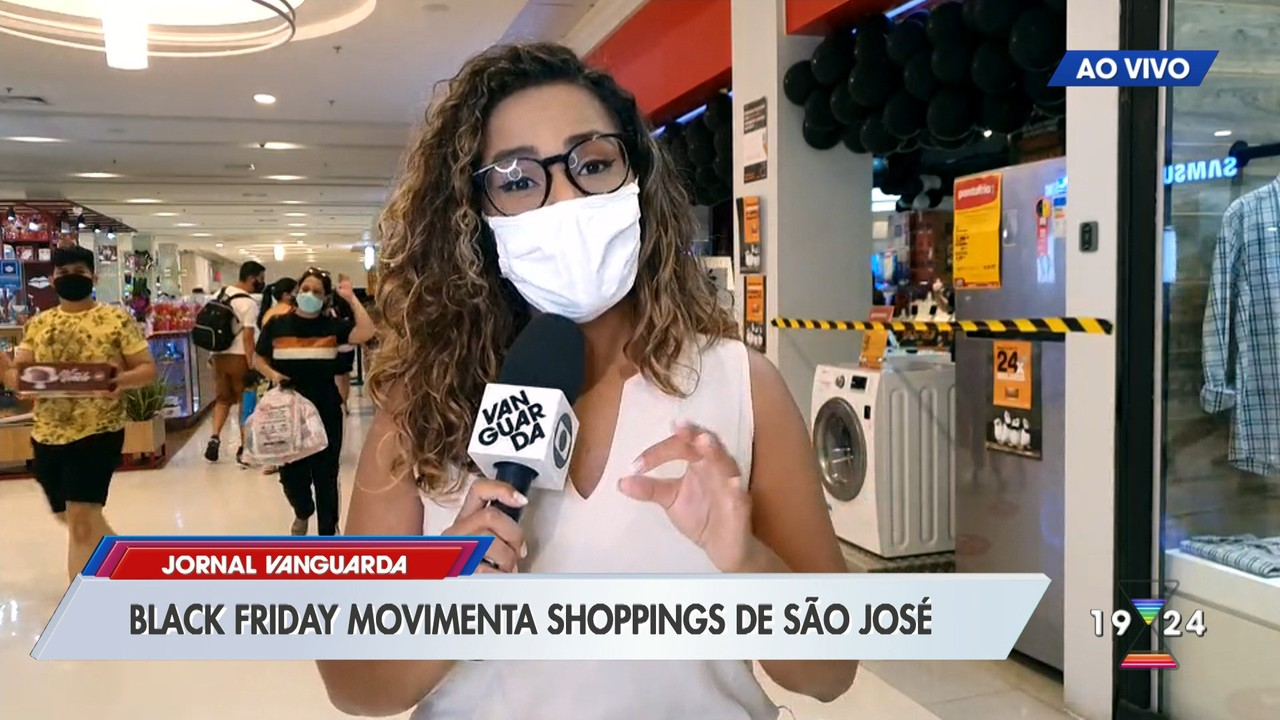 Black Friday deixa shoppings movimentados