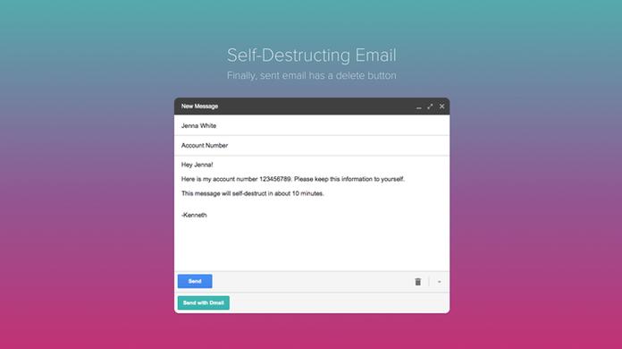 Mandou e-mail errado? Dmail 'destrói' mensagem enviada há