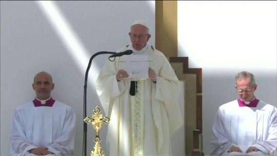Papa Francisco celebra missa para fiés em Abu Dhabi