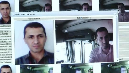 Sistema de biometria facial vai identificar fraudes no transporte público de Palmas