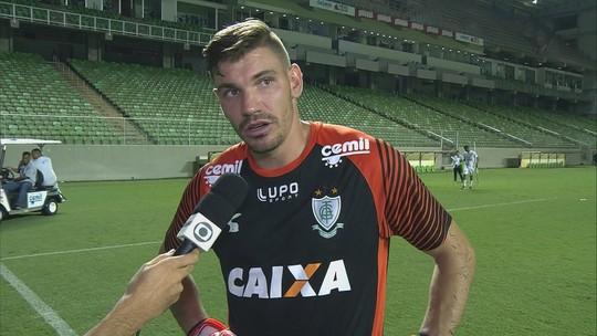João Ricardo comemora retorno ao time e segundo lugar garantido pelo Coelho no Mineiro