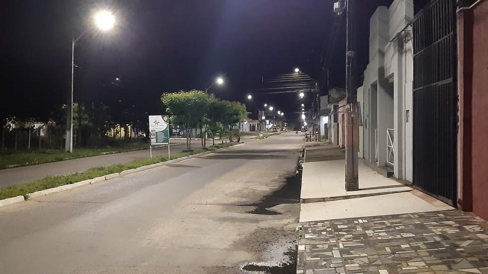 Crime aconteceu em marcenaria no Parque Industrial, Parnamirim — Foto: Sérgio Henrique Santos/Inter TV Cabugi