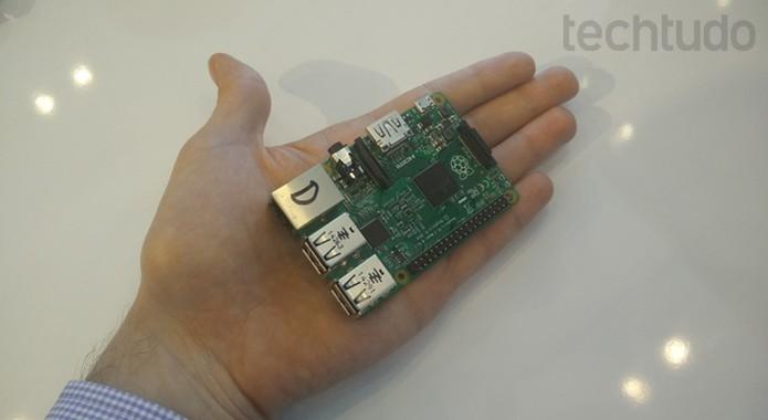 Windows 10 ganhou versão para Raspberry Pi 2 e outros dispositivos IoT em agosto (Foto: Elson de Souza/TechTudo)
