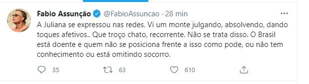 Fabio Assunção  (Foto: Reprodução/Instagram)