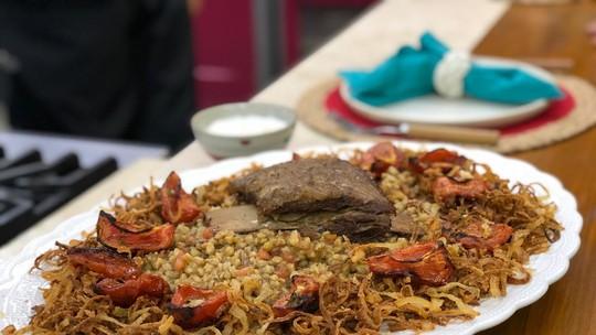 Trigo Grosso com Costela de Boi do Chef Ravioli