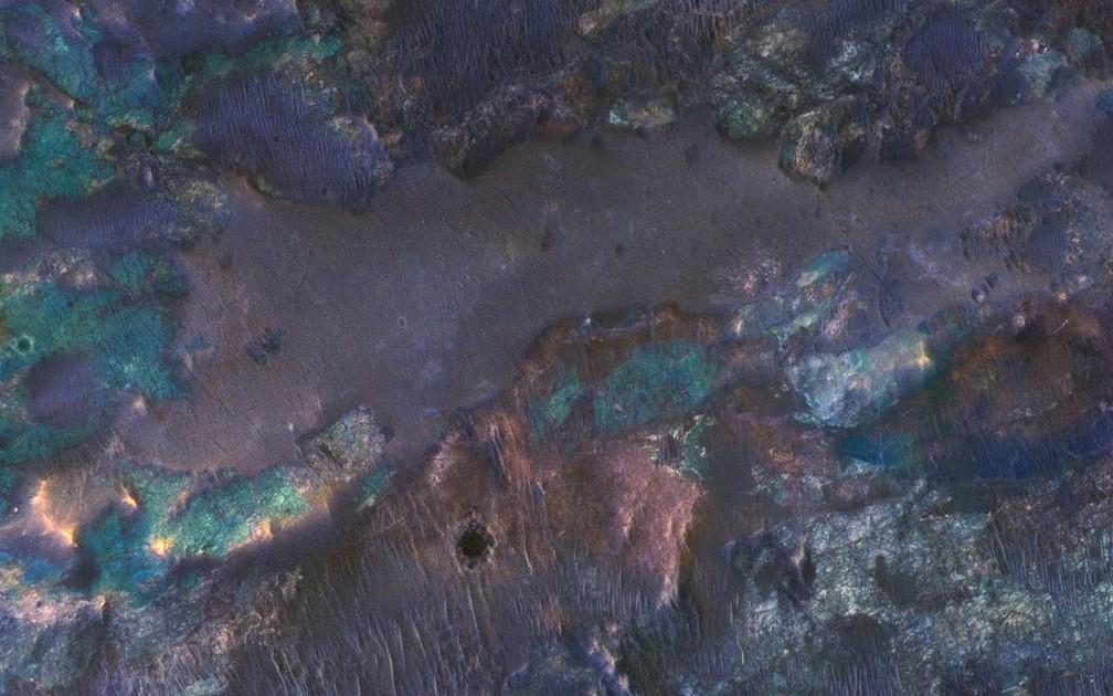 Cores, Marte, Nasa (Foto: Nasa)