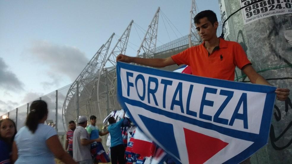 Foram mais de 44 mil torcedores no Castelão no jogo contra o CSA (Foto: Juscelino Filho)