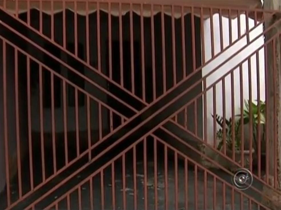 Jogador foi morto na casa da ex-namorada em Catanduva — Foto: Reprodução/TV TEM