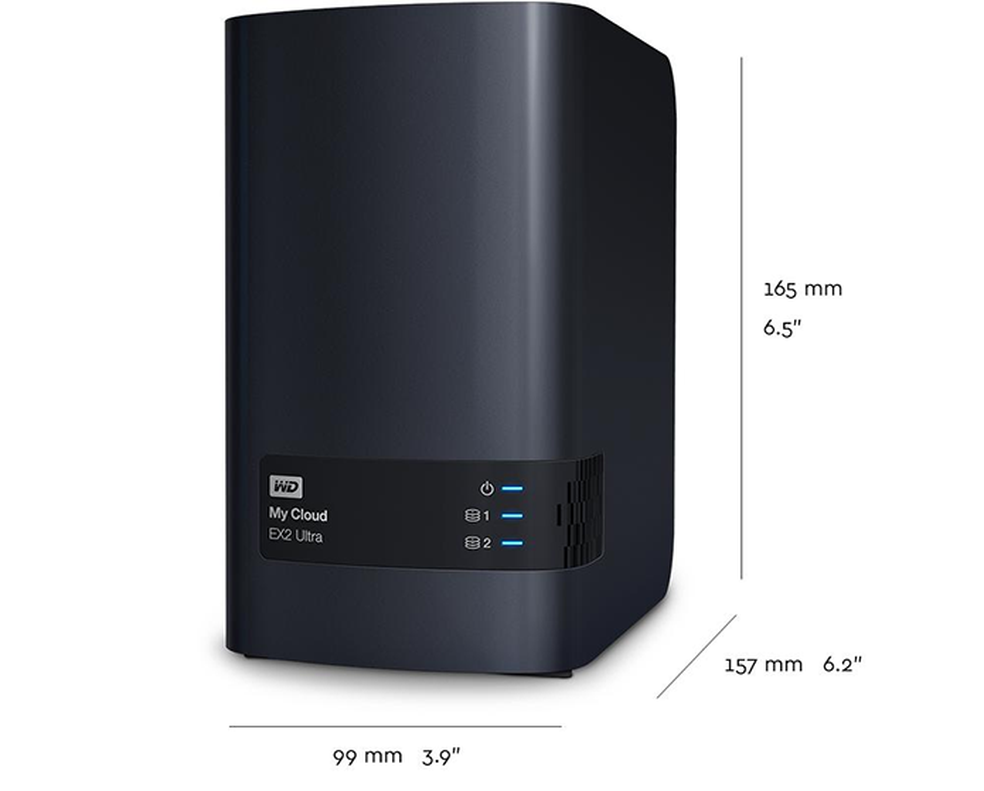 Produto da Western Digital se posiciona como intermediário entre necessidades domésticas e profissionais (Foto: Divulgação/Western Digital)