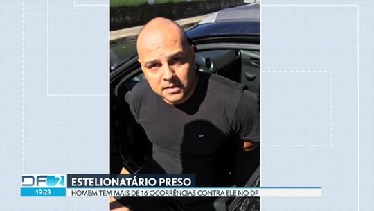 Suspeito de estelionatos no DF e GO foi preso em cidade litorânea de São Paulo