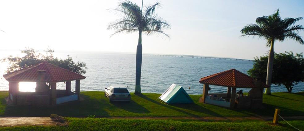 Prainha de Pongaí, em Novo Horizonte (Foto: Reprodução/Google)