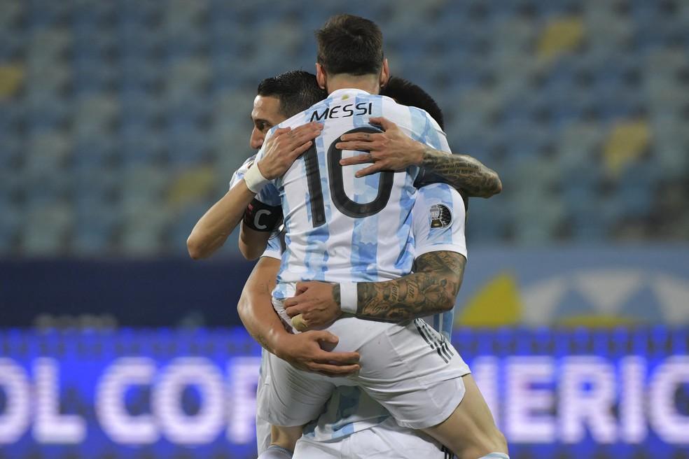 Messi voltará a decidir um título no Maracanã após o vice da Copa do Mundo em 2014 — Foto: DOUGLAS MAGNO / AFP