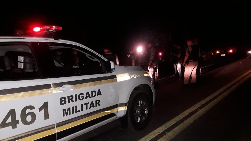 Polícia solta os quatro suspeitos presos durante confronto com a brigada em Nova Petrópolis - Noticias