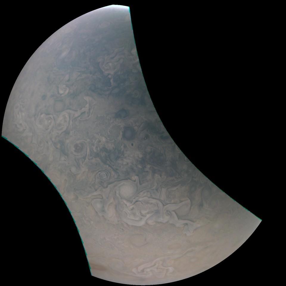(Foto: NASA / SwRI / MSSS)