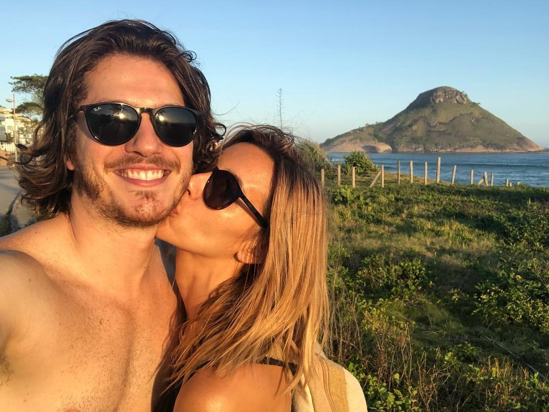 Caio Paduan e Cris Dias (Foto: Reprodução)
