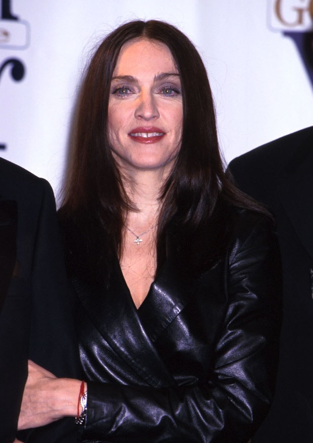 FILE PHOTO: Madonna at the GQ awards at Radio City Music Hall in New York City October 21, 1999. (Photo by Diane Freed) (Foto: Getty Images)