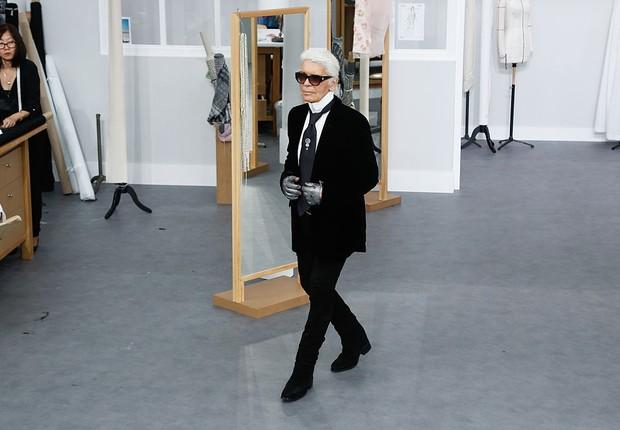 Estilista Karl Lagerfeld tinha 85 anos (Foto: Victor Boyko/Getty Images)
